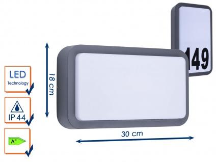 LED Außenwandleuchte Wandleuchte Hausnummernleuchte Außenleuchte 7W, 630 Lm