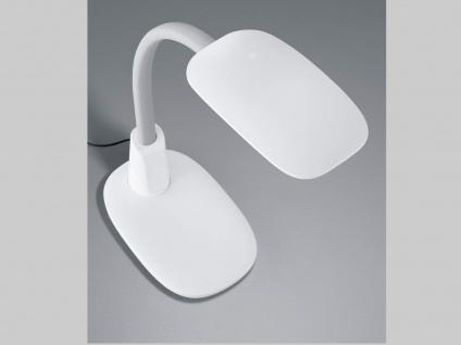 2er SET LED Arbeitsleuchten in weiß USB Anschluss Flexgelenk Touch Dimmer H62cm - Vorschau 5