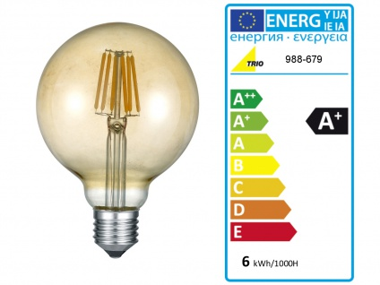 Retro LED Pendelleuchte Ø31cm in Kupfer antik Hängelampe für Esszimmer Flurlampe - Vorschau 5