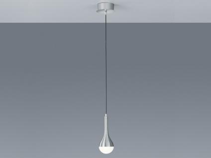LED-Pendelleuchte DROPS, ink. 1 x 4, 5W, Alu, Acryl weiß TRIO