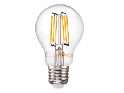 Retro LED Dreibein Stehleuchte höhenverstellbar Schirm schwenkbar schwarz/gold - Vorschau 5