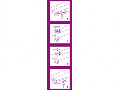 LED Leuchtstoffröhre T8 G13 10W, 60cm, 900Lm warmweiß inkl. Dummy Starter Tube - Vorschau 3