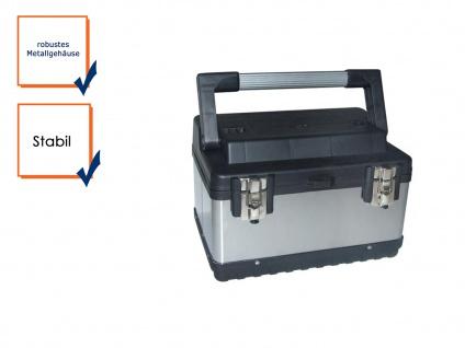 Werkzeugkoffer Werkzeugkiste Werkzeugkasten Werkzeugbox Stahl rostfrei
