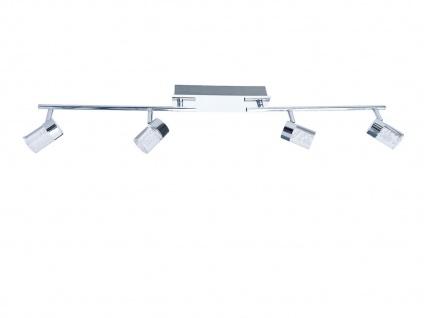 LED Deckenleuchte schwenkbar, Chrom / Acrylglas, Wofi-Leuchten - Vorschau 2