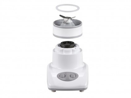 Standmixer weiß 180W 0, 45 Liter Blender Bar Mixer Smoothie Maker Zerkleinerer - Vorschau 2