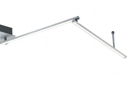 LED Deckenleuchte HIGHWAY Aluminium gebürstet Acryl weiß B. 180 cm - Vorschau 3