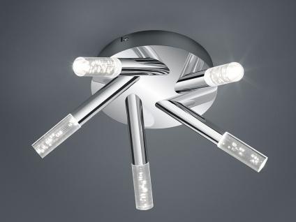LED Deckenleuchte Badezimmerlampe Badleuchte Chrom Acryl Ø41, 5cm IP44