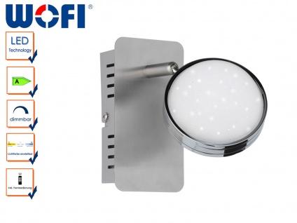 LED Wandlampe STER, Fernbedienung, dimmbar, 3000-6500K, Wandleuchte LED Wandspot