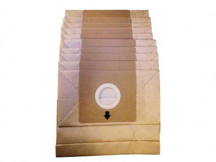 10er Pack Staubsaugerbeutel zu Staubsauger DO7283S / DO7284S Ersatzbeutel DOMO