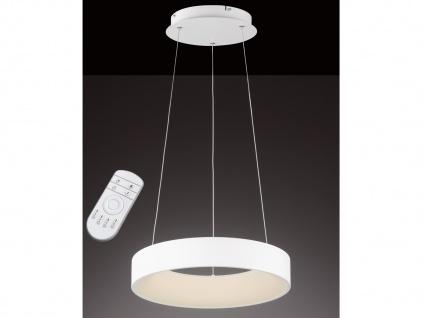 LED Hängelampe mit Fernbedienung dimmbar Farbtemperatur einstellbar Ø55cm Pendel
