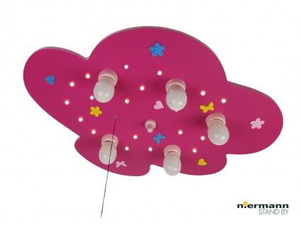 Kinder Deckenleuchte Blumenwiese Zugschalter für LED-Schlummerlicht WÖLKCHEN