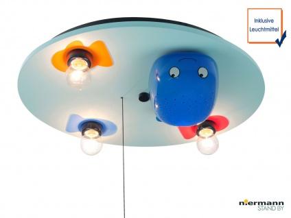 LED Deckenleuchte WAL Schlummerlichtfunktion LED-Farbwechsler Kinderzimmerlampe