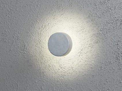 Konstsmide LED Außenwandleuchte PESARO 13cm, grau, IP44, Beleuchtung Fassade - Vorschau 4