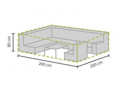 Schutzhülle Abdeckung für Loungemöbel, 260x200cm, Abdeckplane Lounge Garten