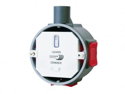 Funk Einbaudimmer zur Helligkeitsregulierung von Beleuchtung bis max. 200W