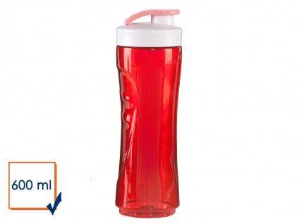 Ersatzflasche geruchsneutral 600ml Rot für Smoothie Maker Stand Mixer DO434