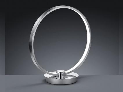 LED Tischlampe Industrial Ring Design Nachtischlampe Touch dimmbar Tischleuchte