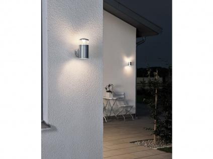 2Stk Konstsmide Energiespar Außenwandleuchte MONZA, Wandlampe Uplight Downlight - Vorschau 5