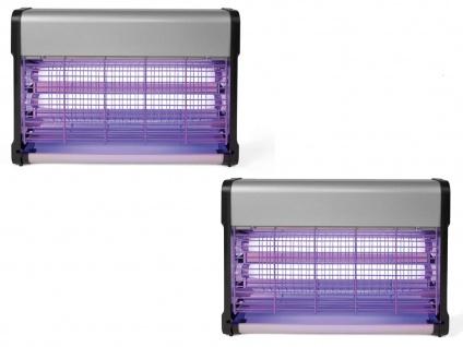 Insektenschutzset UV Lampen, Elektrolampen gegen Schnaken Fliegen, Mückenabwehr