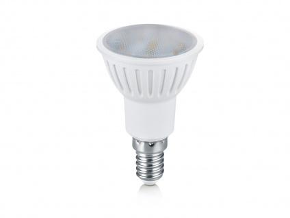 SMD-LED-Leuchtmittel, 5W, E14, 400 Lumen, warmweiß, nicht dimmbar Reflektor grau