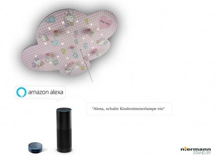 Kinder Deckenleuchte, Amazon Echo kompatibel, LED-Schlummerlicht Sternenhimmel