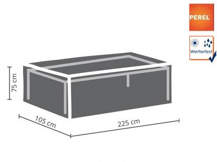 Gartenmöbel Abdeckung / Schutzhülle für Gartentische bis 220cm, Plane wetterfest