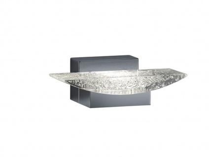 LED Wandlampe Badlampe Chrom, Leuchte Badezimmer modern, Acryl mit Blasen Trio - Vorschau 2