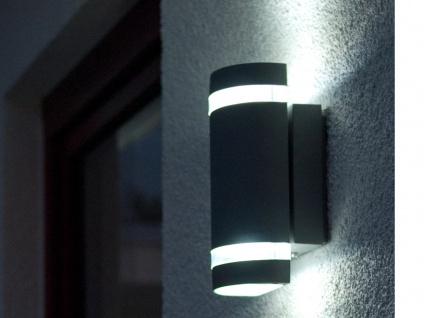 Außenwandleuchte Aluguss IP44 Höhe 23, 5 cm Fassadenbeleuchtung Wandleuchte - Vorschau 5