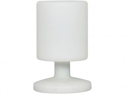 Kabellose LED Tischleuchte für innen/außen, inkl. Akku/Netzteil RANEX