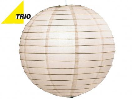 Trio Lampenschirm Japan-Kugel PAPER Papier weiß Ø 50cm, Pendelleuchte Lampion