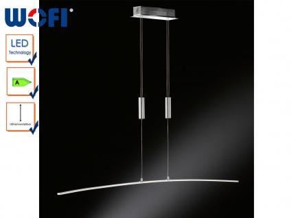 LED-Hängeleuchte höhenverstellbar, Chrom, 120cm, Wofi-Leuchten