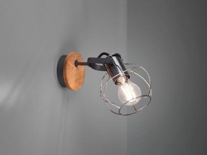 Einflammiger LED Wandstrahler für den Flur, Industriedesign Treppenhausleuchten