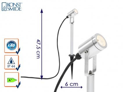LED-Erdspießstrahler Gartenstrahler Erdspießleuchte Außenstrahler MONZA