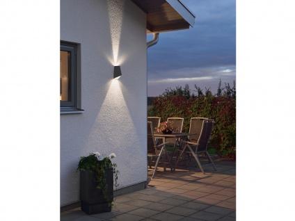 2er-Set Up/Down Außenwandleuchte IMOLA, anthrazit, 8W HP-LEDs IP54 - Vorschau 4