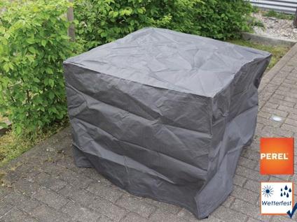 Gartenmöbel Schutzhülle Abdeckung für Hocker, 95x95cm, Folie witterungsbeständig - Vorschau 1