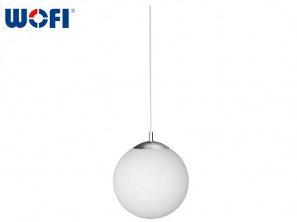Kugel-Pendelleuchte Ø 30 cm, Glas opalweiß, Wofi-Leuchten