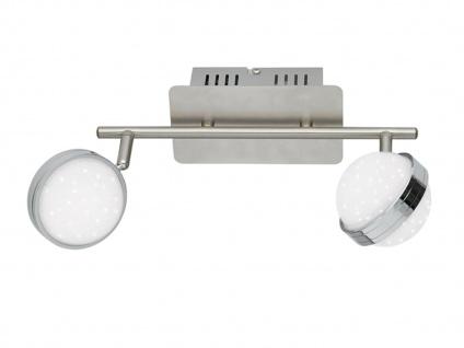 2er Set LED Deckenlampe STER, Fernbedienung, dimmbar, 3000-6500K, Deckenleuchte - Vorschau 3