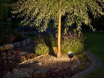 LED-Erdspießstrahler Gartenstrahler LECCE 40cm Aluminium, schwenkbar, 4W - Vorschau 5