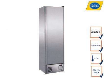 Gastro Edelstahl Kühlschrank ohne Gefrierfach 0°C/10°C, Profi Freistehend