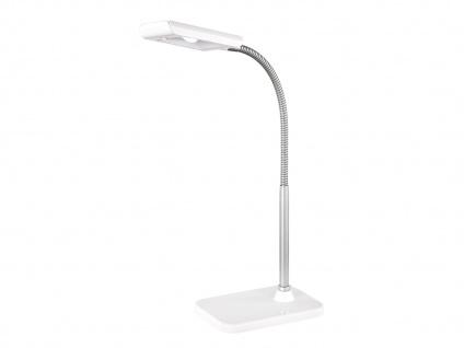 Moderne LED Schreibtischleuchte flexibel & biegsam PICO in Weiß, 28cm hoch - Vorschau 2