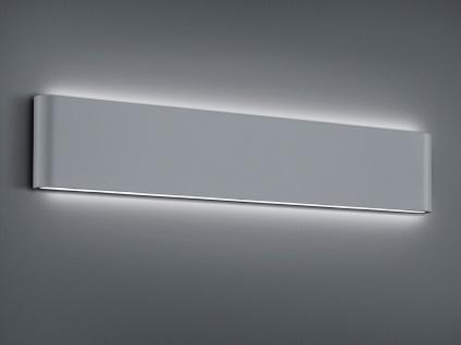 LED Außenwandlampe mit UP and DOWN grau Breite 46, 5cm - moderne Hausbeleuchtung