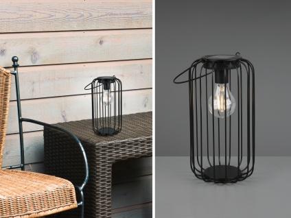 Outdoor Solar Tischleuchte zum aufhängen Gitterdesign für den Garten & Balkon