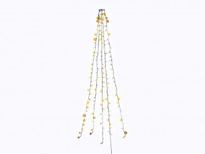Lichterkette für Innen + Funksteckdose & Fernbedienung 200 LEDs Weihnachtsbaum