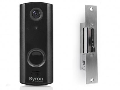 WiFi Türklingel mit Videokamera & Türöffner, Türgegensprechanlage Smartphone App