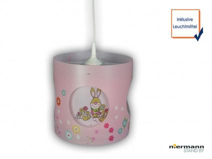 Selbstdrehende Kinderzimmerlampe Bungee Bunny LED Licht Kinderlampe Hängeleuchte - Vorschau 1