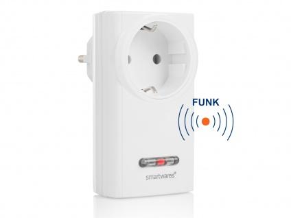 SmartHome Indoor Funk-Steckdose für Geräte Lampen, Leuchten bis 3500 Watt