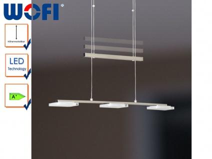 3-flammige LED-Pendelleuchte, höhenverstellbar, Wofi-Leuchten