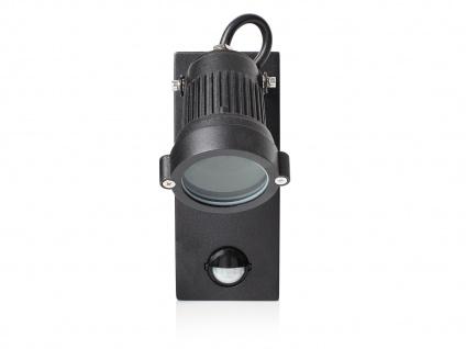2er-Set Downlight Außenwandleuchten mit Bewegungssensor, GU10, 90° x 8 Meter - Vorschau 3