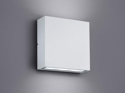 LED Außenwandleuchte mit UP and DOWN Light in weiß - Außenbeleuchtung für Wand