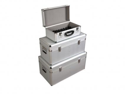 Werkzeugkoffer Werkzeugkiste Werkzeugkasten Aluminium Case 3-teilig - Vorschau 2